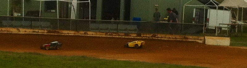 Car, radio control car, race track, dirt, track, acres, open day, toy cars  - Model Park