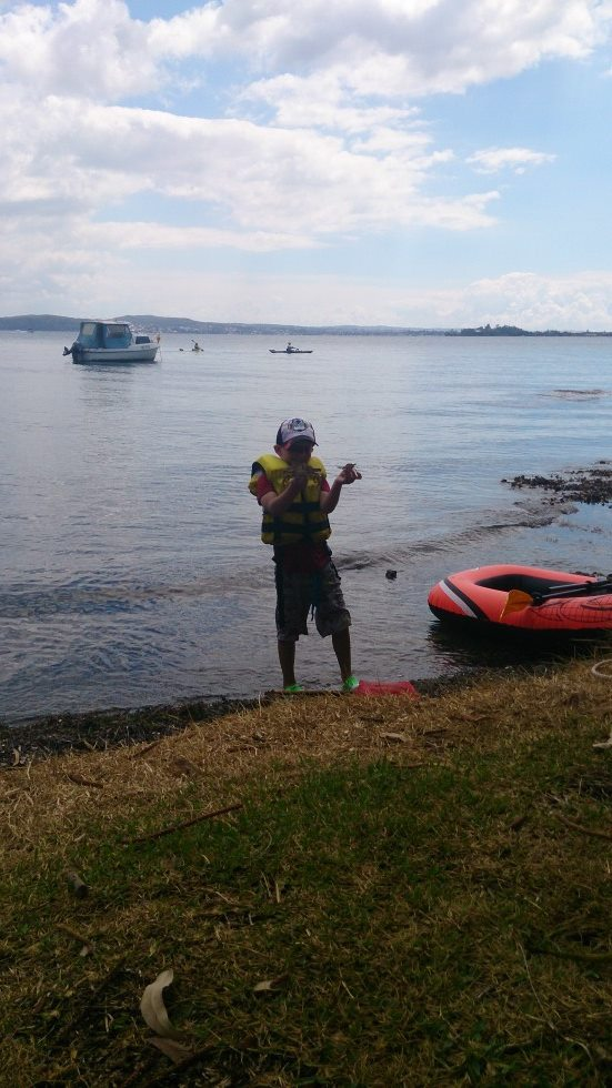 Kayaking in Lake macquarie