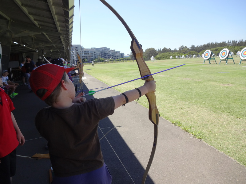 Little Archers At Sydney Olympic Park