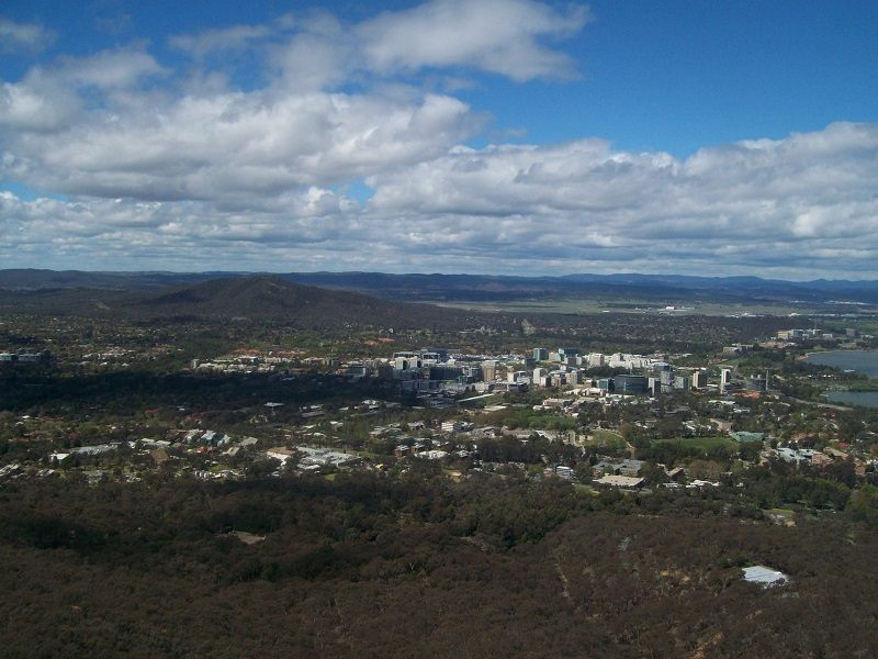 Telstra Tower, Black Mountain Tower, Canberra, Attractions  - Black Mountain Tower - Canberra