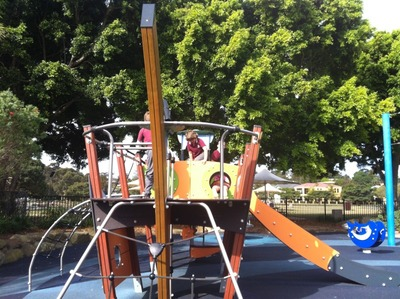 Winnererremy Bay Playground, Mona Vale Playground, Flying Fox Playground