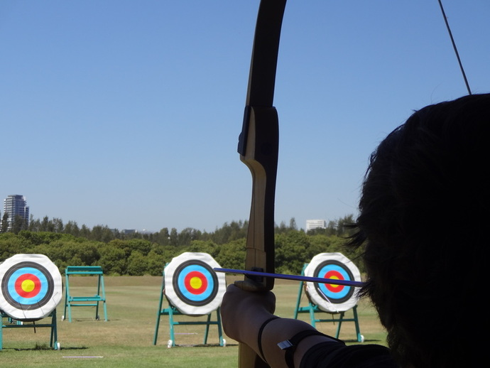 Archery Kids on Target