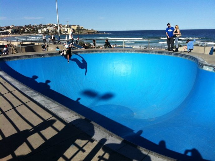 Bondi, Bondi Beach, beach, playground, swimming