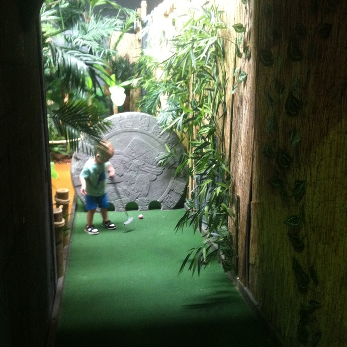 king mini golf