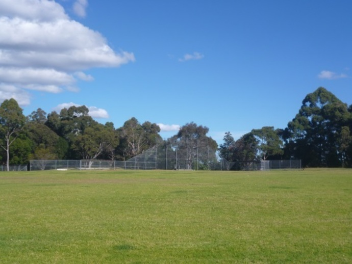 golden jubilee field, sportsgrounds, wahroonga, ovals in wahroonga