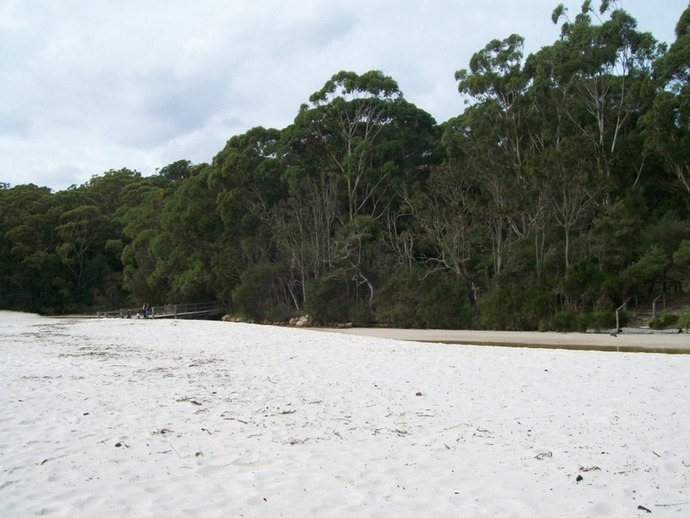Green Patch, Jervis Bay, camping, Cave Beach