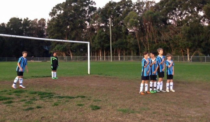 Gremio BlueSox Football School, football, soccer, school holiday program