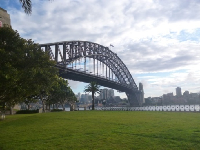 hickson road reserve dawes point sydhey