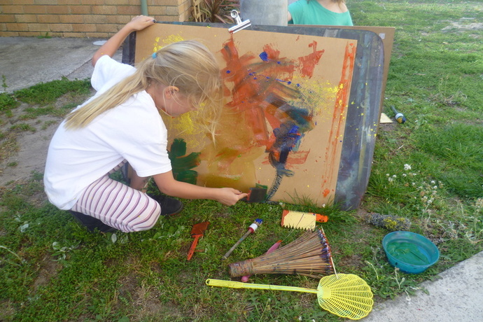 Kindeart, art classes, kids art classes