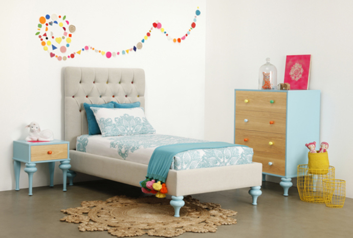 Lilly & Lolly, kids furniture, kids linen