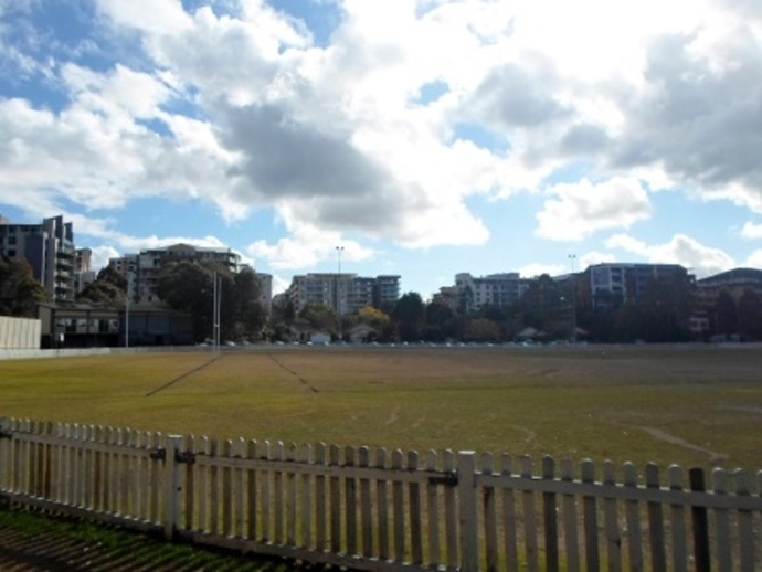 mark taylor oval, waitara oval, playground