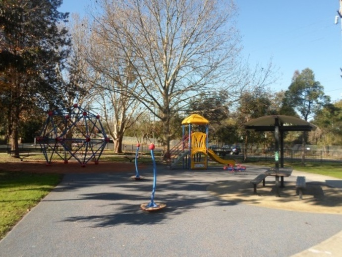 mildred avenue playground, hornsby parks, hornsby playgrounds