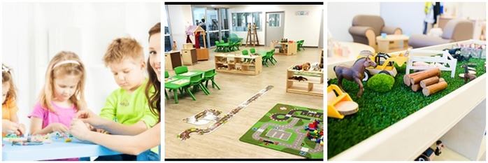 Mixing Education and Fun at Little Learning School Montage