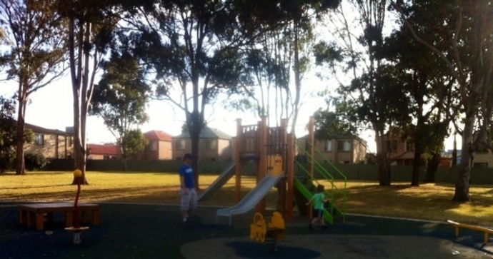 Playground, park, sports, reserve, path, slides, steps
