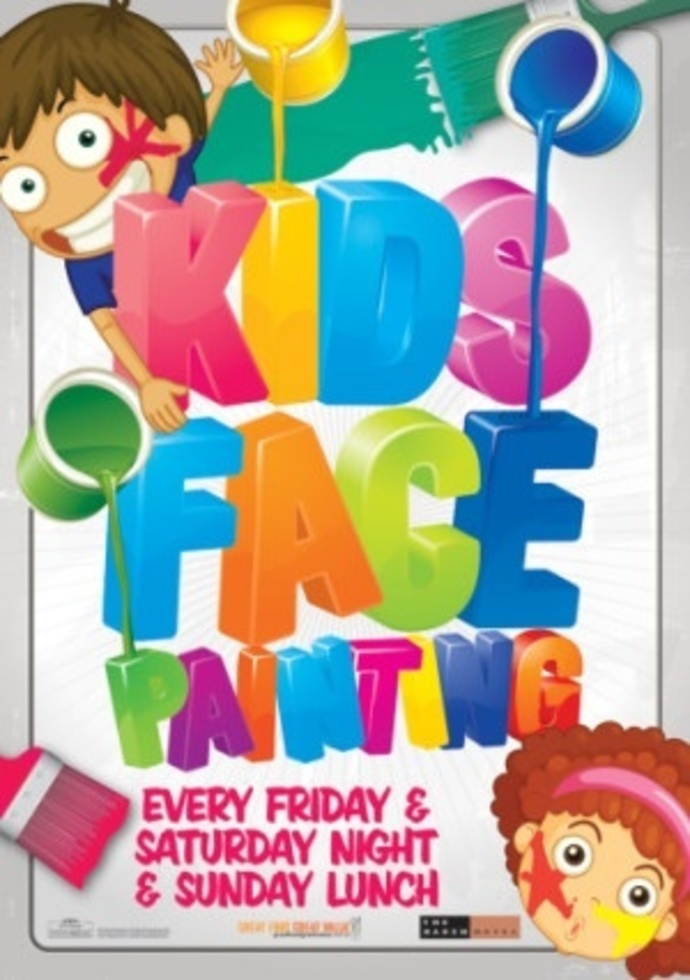 Kids, face paint, fun, games, family, free, hotel, activities