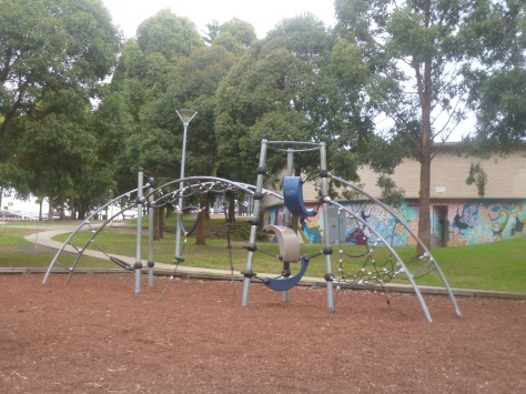 st ives village green, william cowan oval, playground, kids, play equipment, st ives
