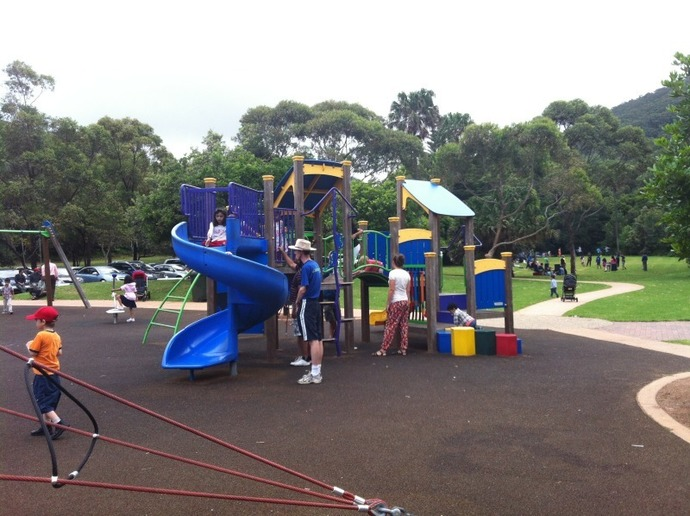 Stanwell Park Beach Reserve, Stanwell Park, Wollongong, South Coast, Park, Playground