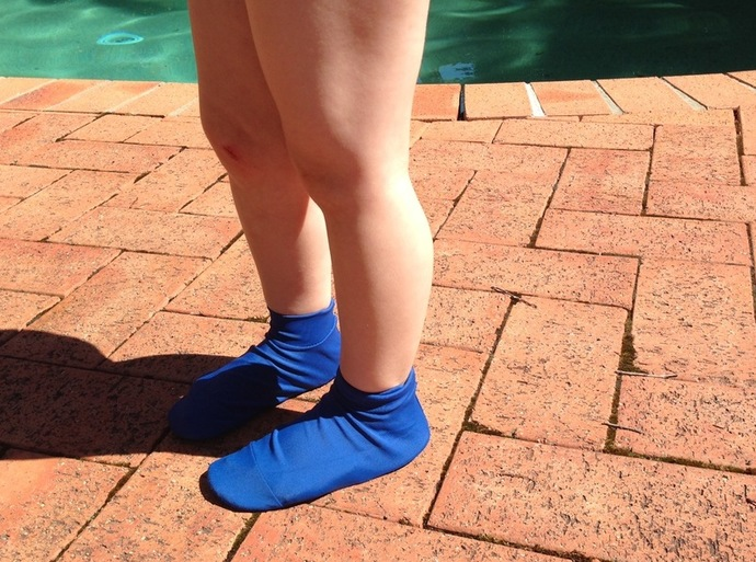 Sun sox, SPF protection, sun protection, feet protection