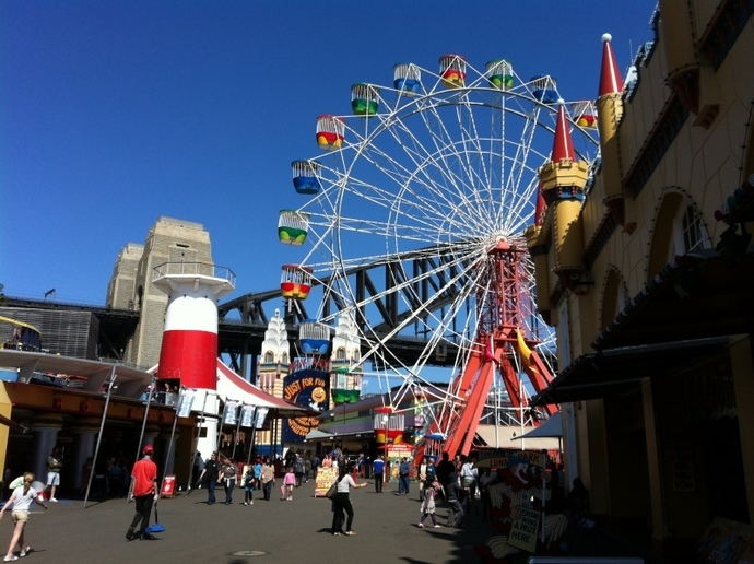 Sydney attractions for kids, Luna Park