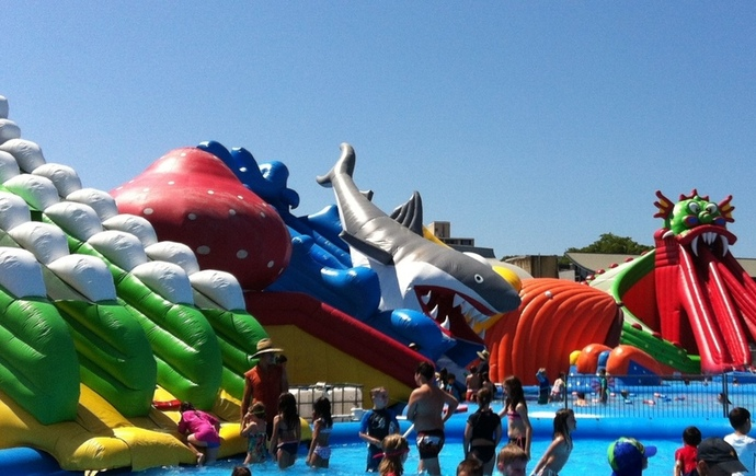 Sydney Waterworld Water Play Park Swimming Bicentennial Address Homebush