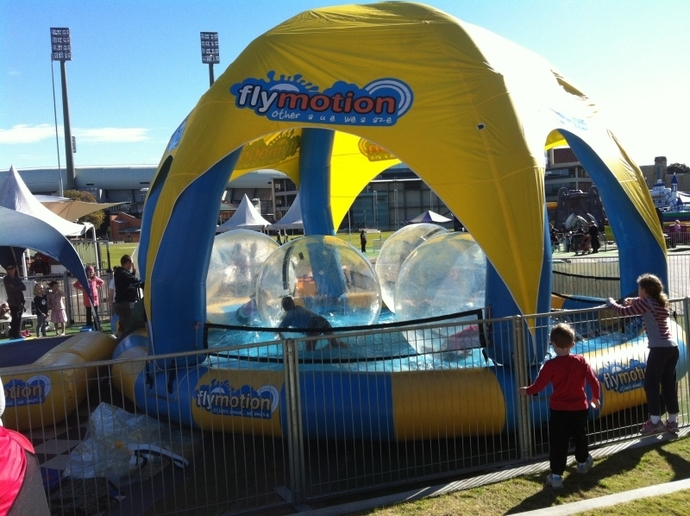 The Entertainment Quarter, School Holiday Fun, Flymotion, Plaster Painting, Playground