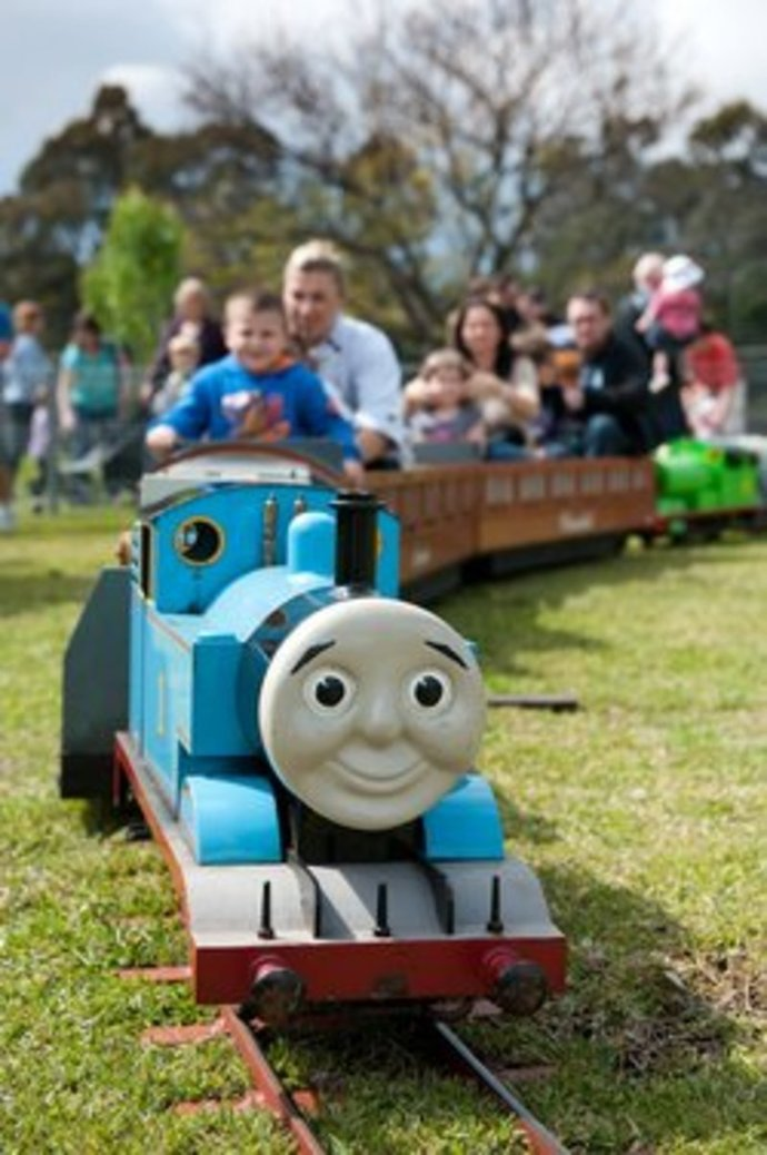 Thomas day out train ride