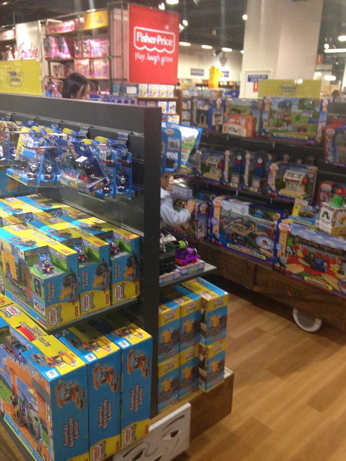 toys at myer sydney city, myer sydney city