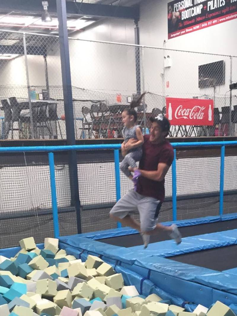 Trampoline fun park BOING Central