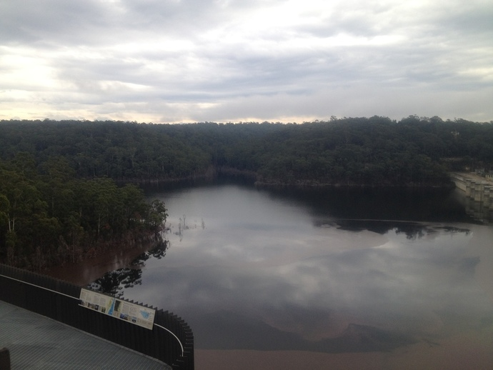 Warragamba Dam, copyright Lydia C. Lee