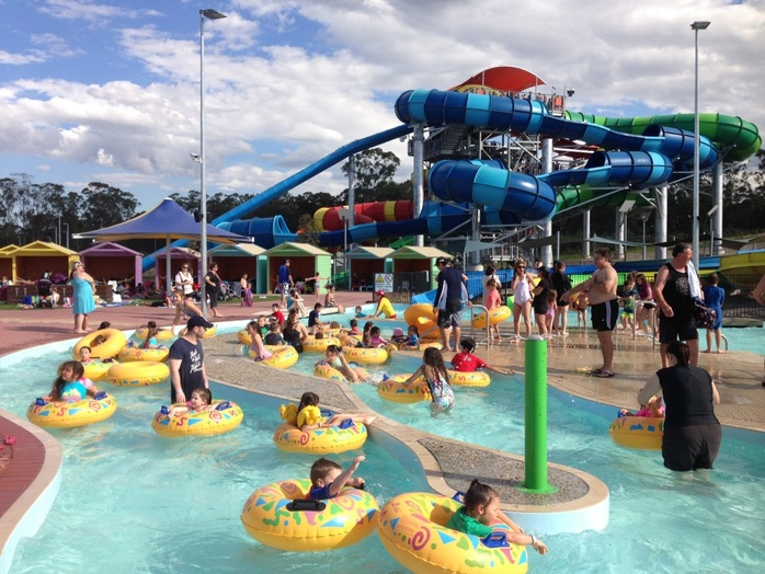 Wet 'n' Wild Sydney, Water Park, Water Play, Theme Park