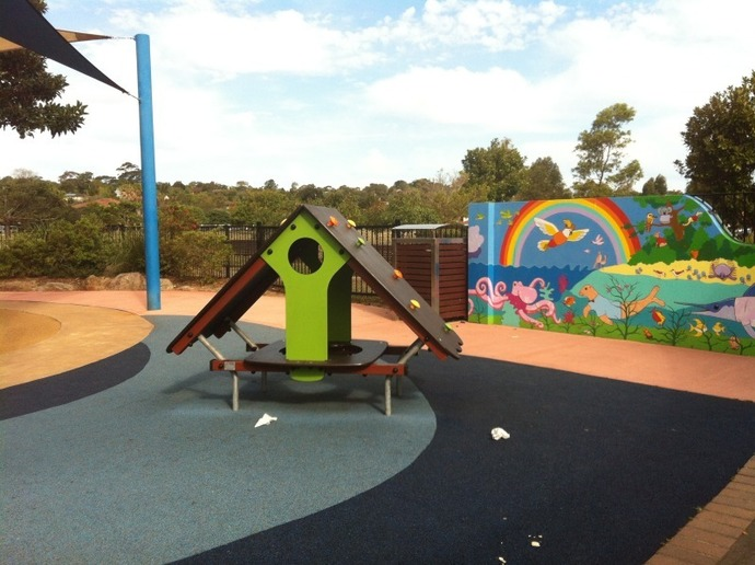 Winnererremy Bay, Flying Fox, Mona Vale, Playground